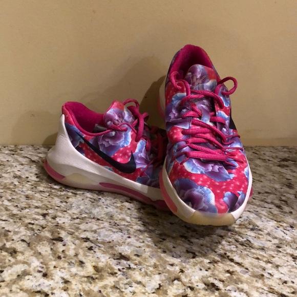new product da6ef 3e866 Youth KD 8, Aunt Pearl Basketball Shoe